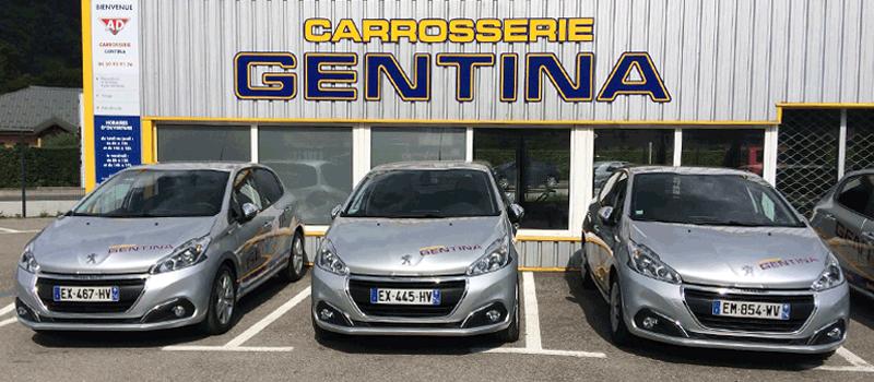Notre partenaire Carrosserie Gentina